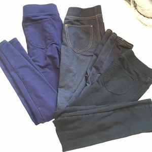 Other - Bundle of girls leggings / jeggings